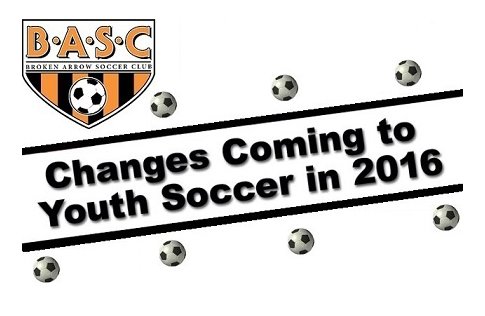New Changes for the Fall 2016 Soccer Season