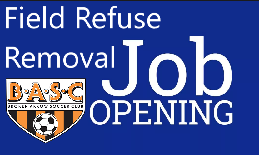 Job Opening: BASC Field Refuse Removal Position