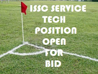 ISSC Service Tech Job Open in 2017