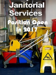 Janitorial Services Job Opportunity in 2017