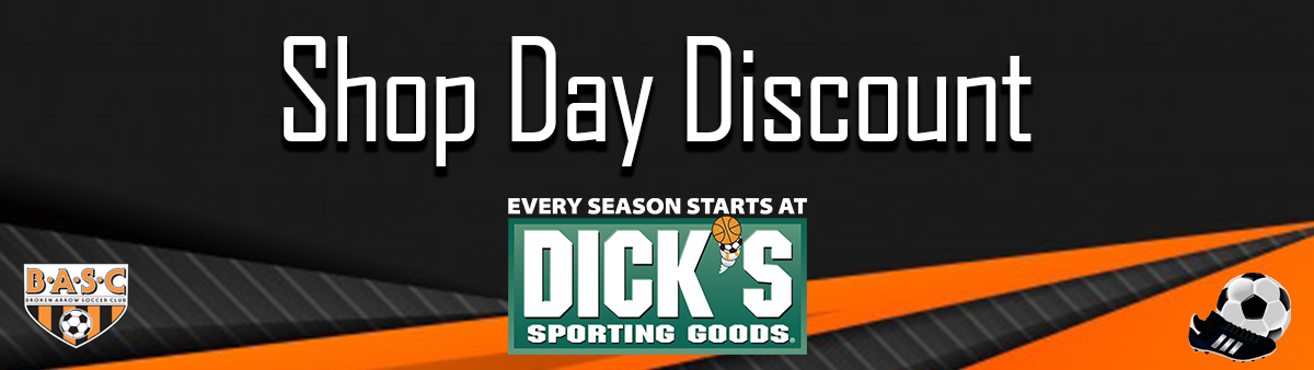 Dick's Sporting Goods - BASC Shop Days