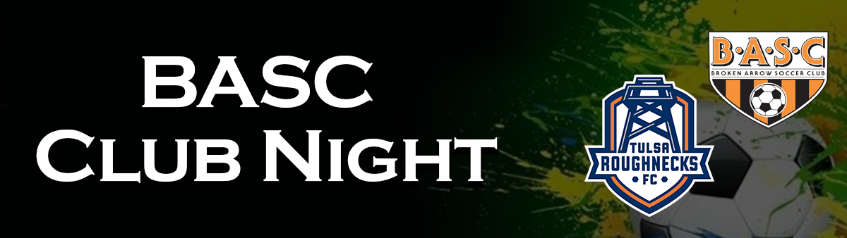 Club Night Header Graphic