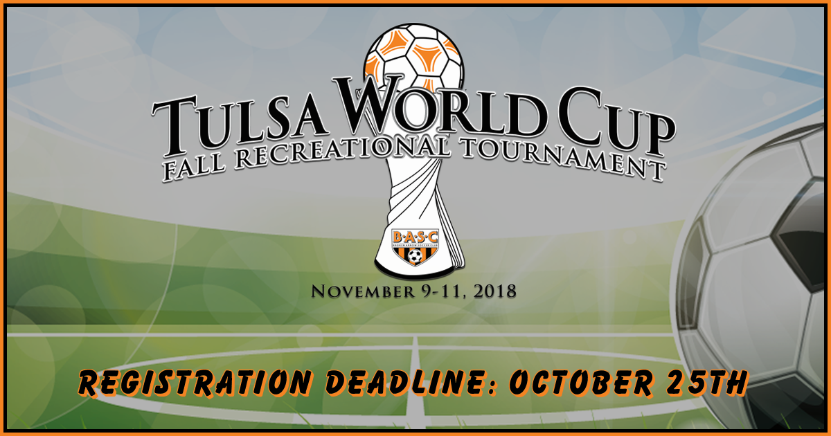 Tulsa World Cup - Fall Recreational Tournament