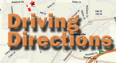 Soccer Field Driving Directions