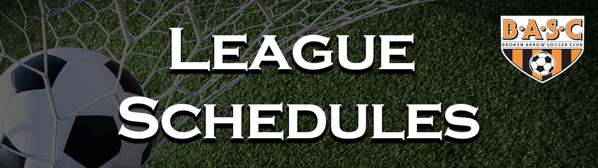 League Schedules