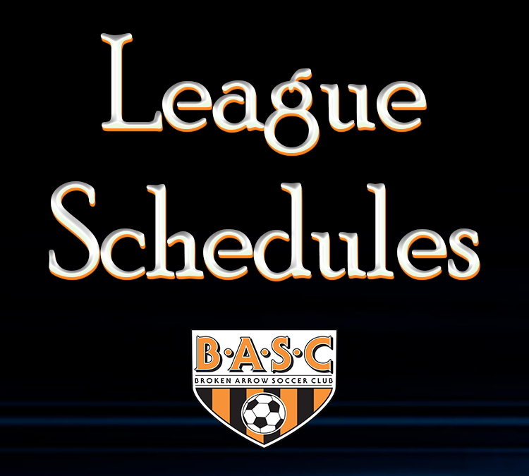 League Schedules graphic 2