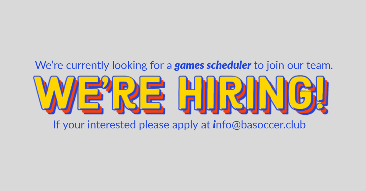 Games Scheduler Job Opening - Great Opportunity!