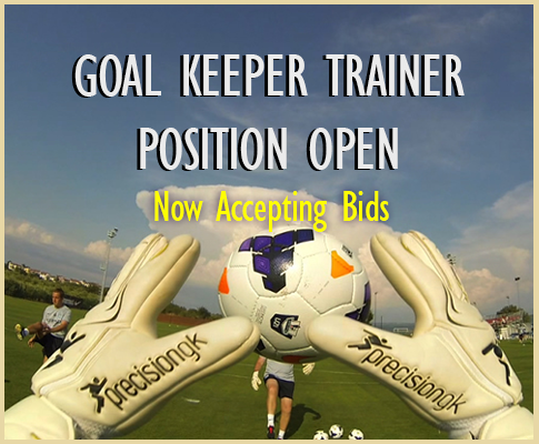 Goal Keeper Trainer Position