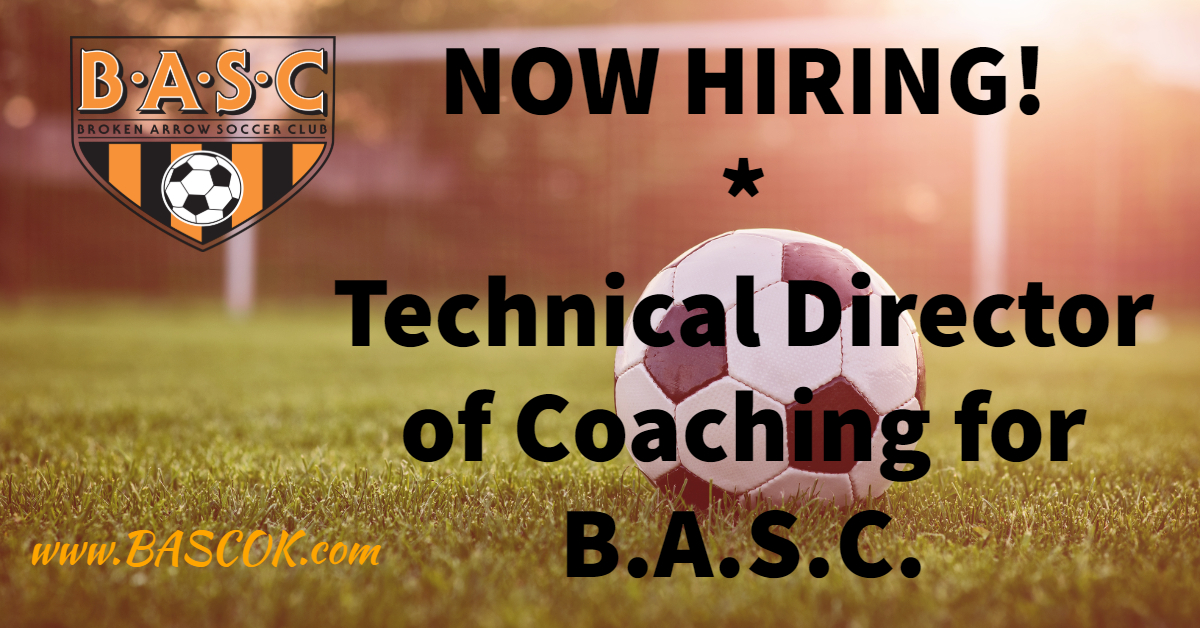 Job Opening: Technical Director of Coaching