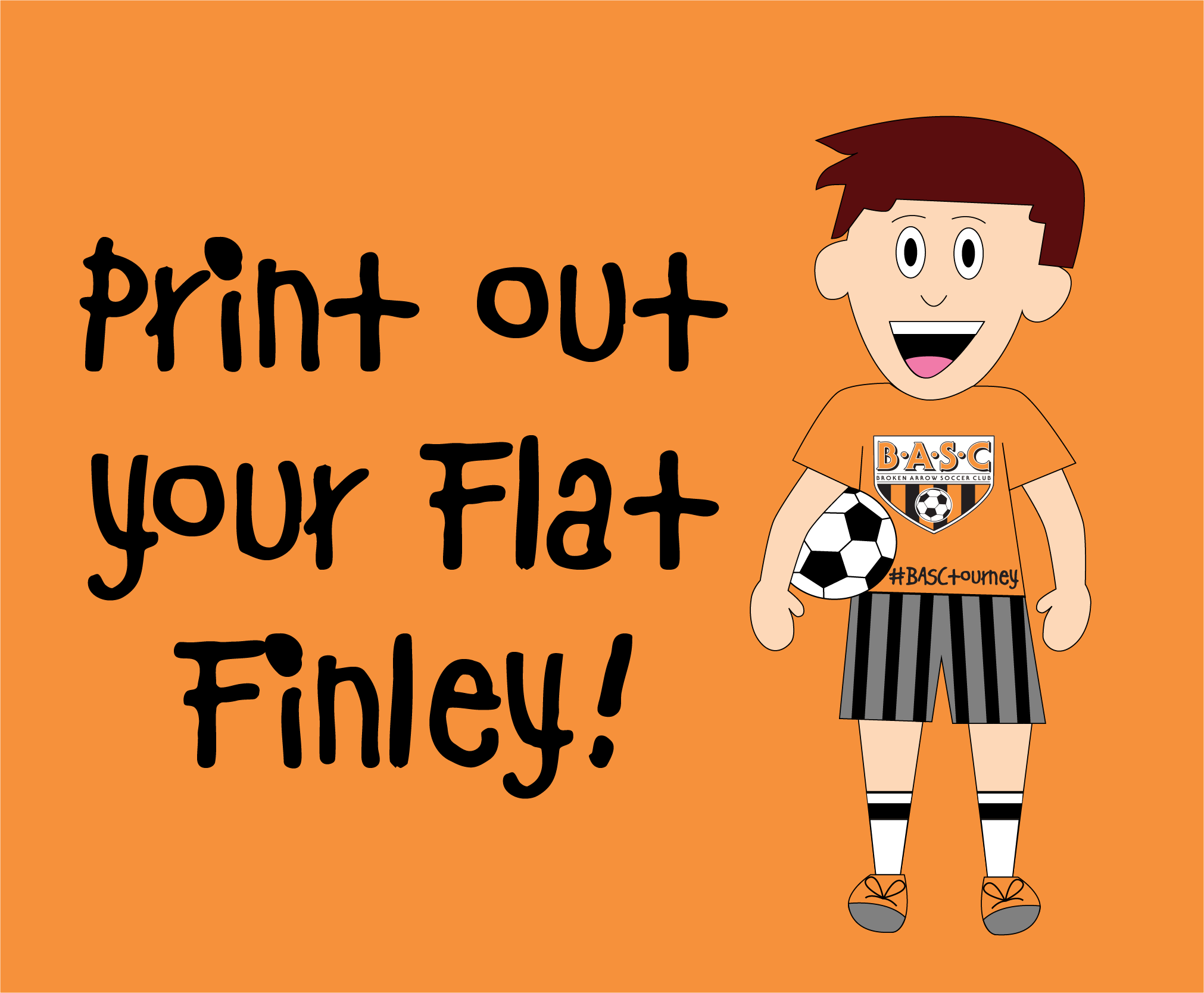 Check Out Our New Friend! Flat Finley